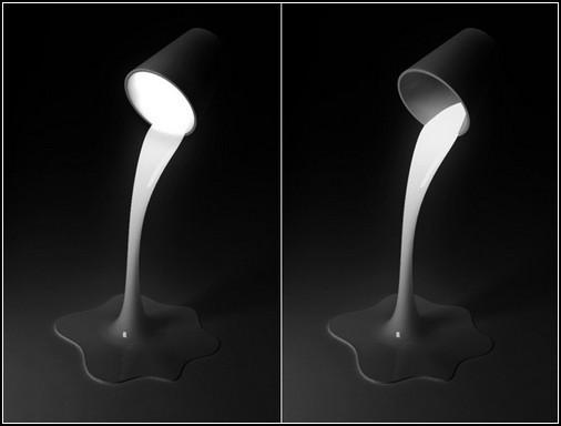 Настольная лампа с чувством юмора