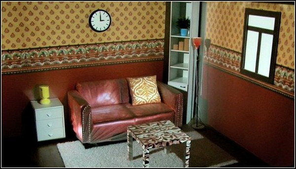 Живая комната для любителей регулярной смены интерьеров