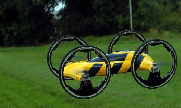 B – игрушечный автомобиль, который превращается в вертолет