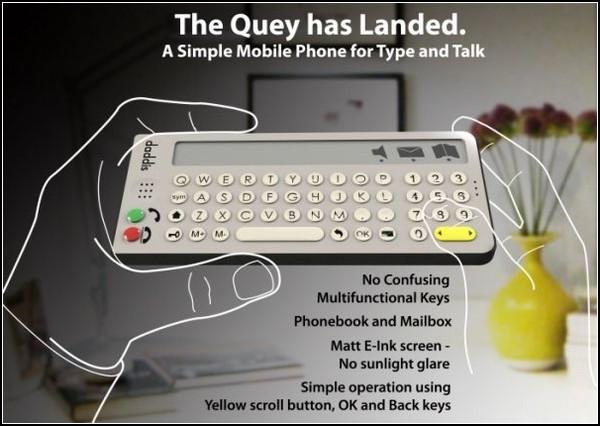 Quey Phone – еще один телефон для бабушек и дедушек