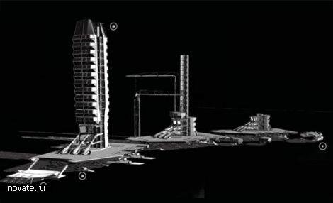 Мобильный небоскреб для ликвидации стихийных бедствий