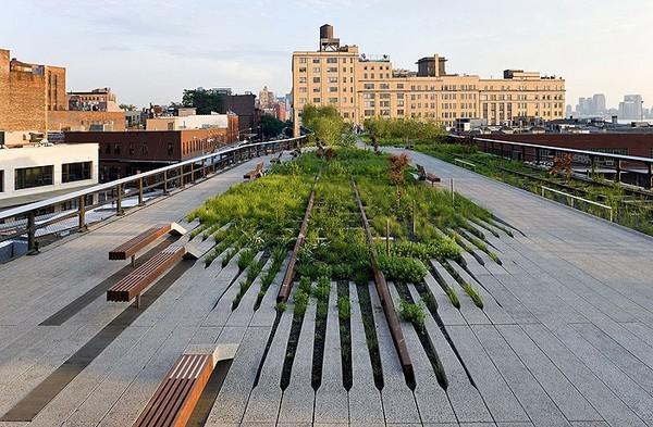 High Line: из железнодорожной эстакады в парк