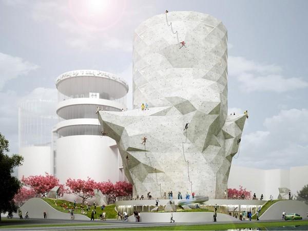 Siloo O: из силосной башни в скалодром и офисный центр