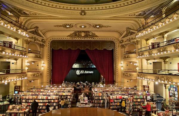 Libreria El Ateneo: из театра в книжный магазин
