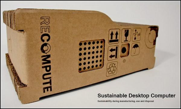 Картонные корпуса для компьютеров