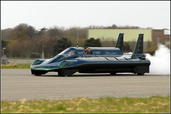 Самый быстрый паровой автомобиль