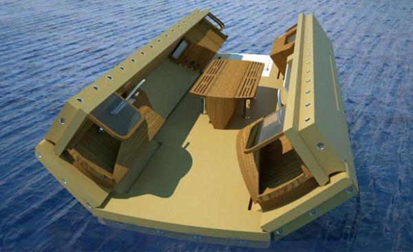Recreational Island – рукотворный остров-трансформер