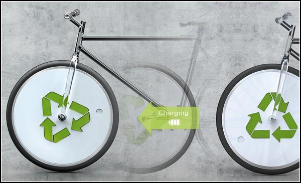 Велосипед с розеткой