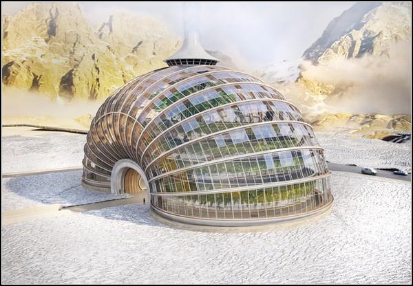 Дом-ковчег для мест с нестабильным климатом