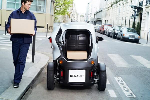 Renault Twizy Cargo – теперь и грузовой городской электромобиль