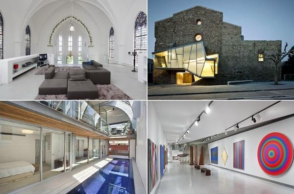 Самые необычные переоборудованные церкви