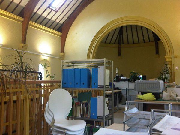 Офисный центр в старой часовне