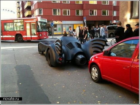 Настоящий автомобиль Бэтмена