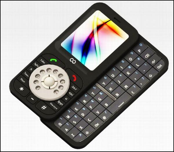 К примеру, мобильный телефон с вертушкой Samsung Jot от Рэймонда Бессемера