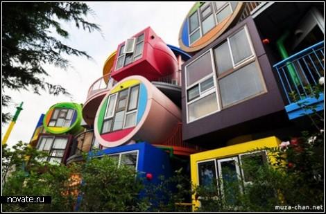 Дом для молодежи в Японии