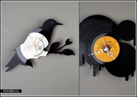 Часы на останках старой музыки