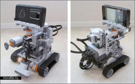 Робот с управлением через Twitter