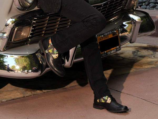 Благотворительные ботинки от Ринго Старра и Timberland