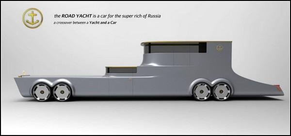 Road Yacht – яхта для езды по дорогам