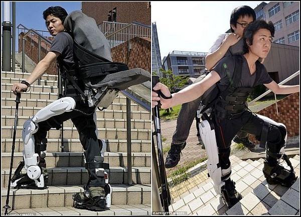 Экзоскелет Hybrid Assisted Limb для парализованных людей