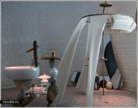 Ванная комната для медитации