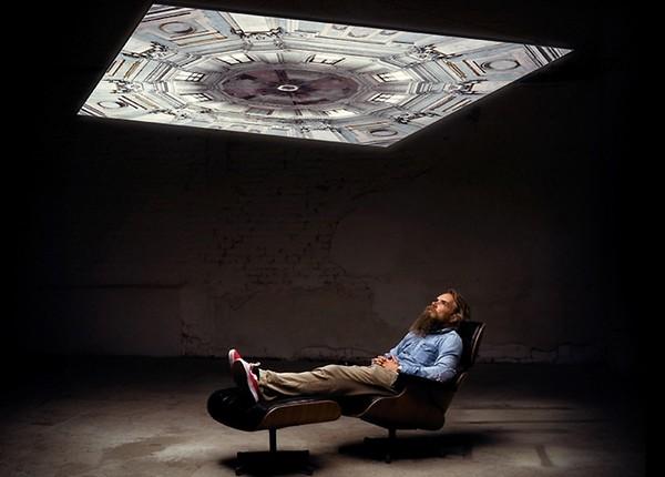 Rooftop ceiling lights – потолок, который может меняться
