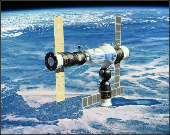 Космическая станция для космических туристов