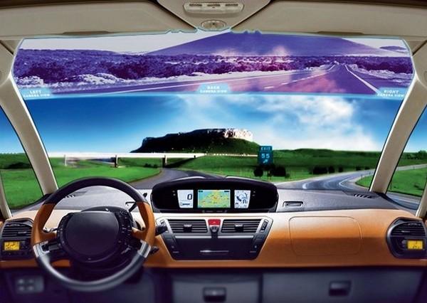 Экран против белых пятен на дороге