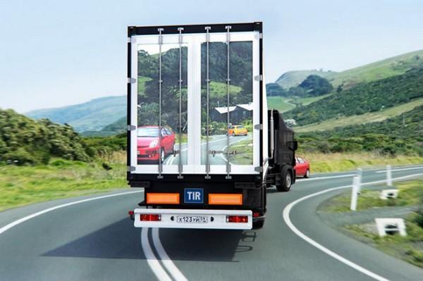 Транспарентиус – экраны на грузовиках