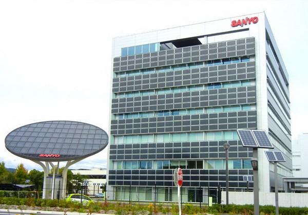 Солнечный офис Kasai Green Energy Park корпорации Sanyo