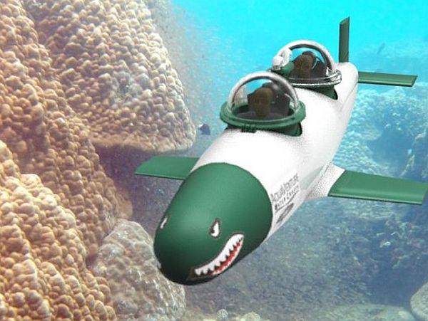 SeaBird – самая быстрая в мире частная подводная лодка