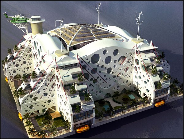 Плавающие острова-государства от Питера Тиля и Seasteading Institute