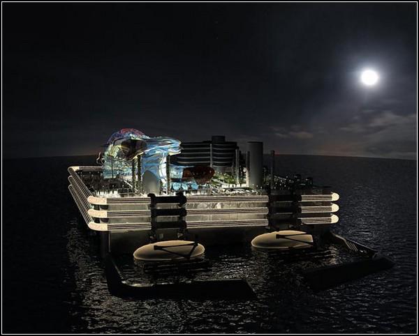 Плавающие острова-государства от Питера Тиля и Seasteading Institute