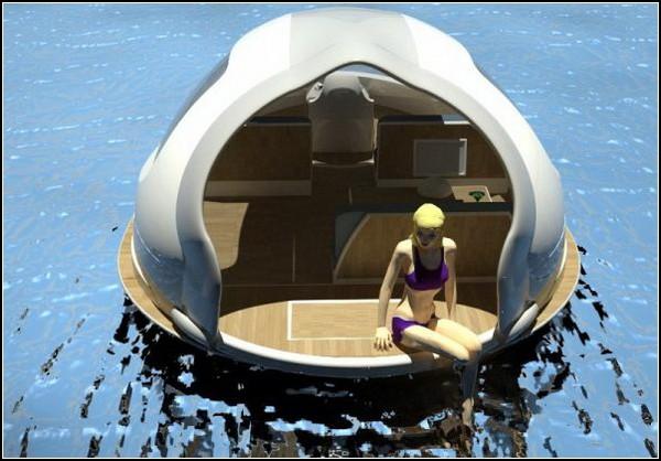 Плавающий пляж SeaJet Capsule