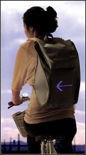 Эмоциональный рюкзак для велосипедистов