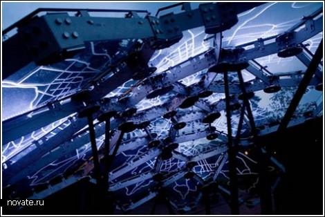 Медиа-скульптура «Воздух Сеула»