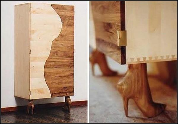 Шкаф-женщина
