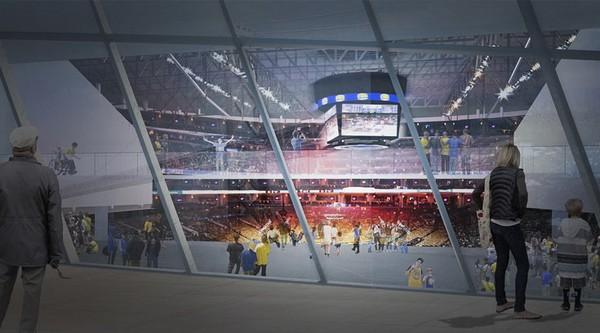 New Golden State Warriors Arena – впечатляющая баскетбольная арена в Сан-Франциско