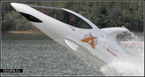 Лодка-акула для опасных мужчин