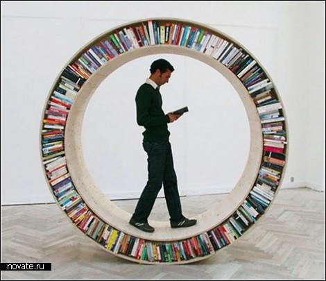 Необычные книжные полки