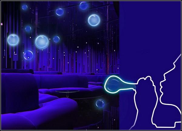 Ночные мыльные пузыри