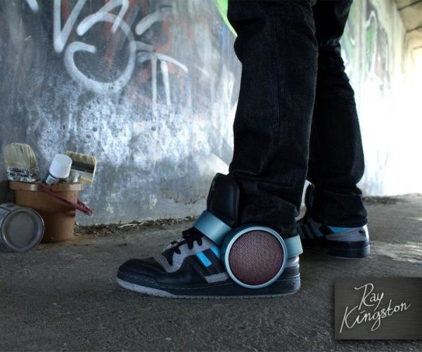 Sneaker Speaker – динамики для кроссовок
