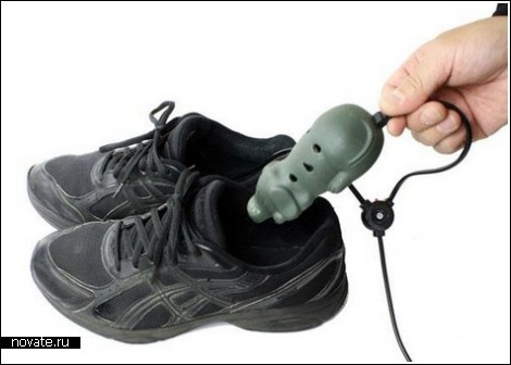 Собачья грелка для обуви