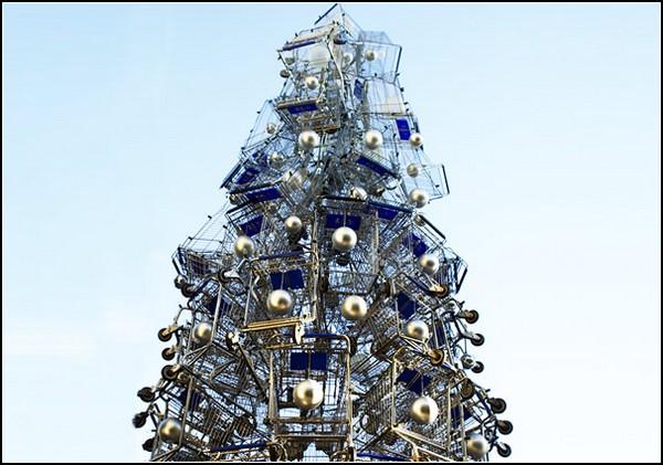 Shopping Cart Tree – идеальная рождественская елка для супермаркета