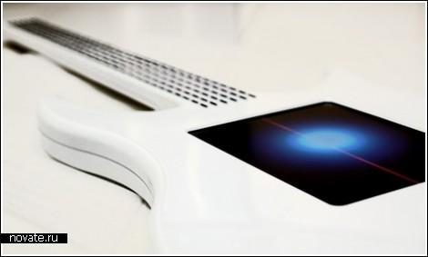 Сенсорная электрогитара для музыкантов 21-го века