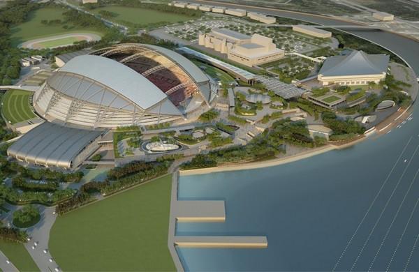 Singapore National Stadium – новый национальный стадион Сингапура