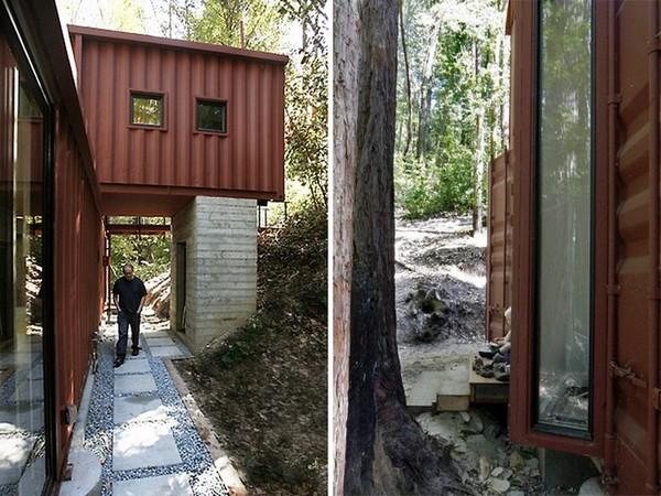 Six Oaks — жилой дом из шести грузовых контейнеров