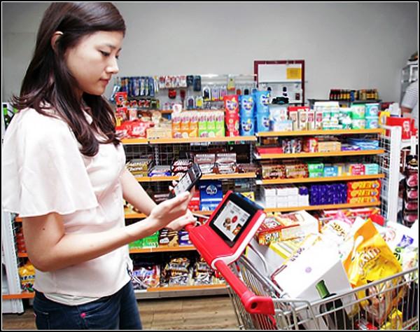 Smart Shopping Cart: умная тележка для супермаркетов