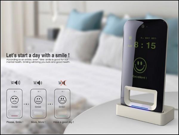 Будильник Smile Alarm Clock, который заставит вас улыбаться