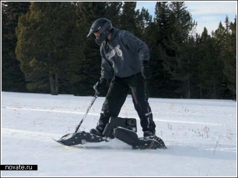Сноуборд с моторчиком